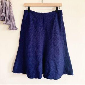 Cabi • a line stretch tulip midi zip up skirt 4